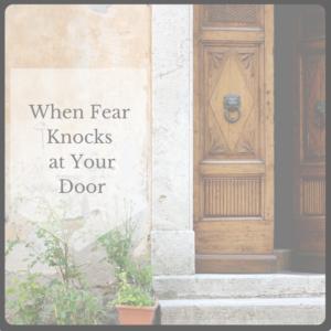 fear knocks